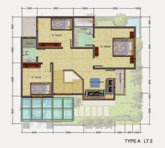 3 Contoh Denah Rumah Minimalis Modern Terbaru: JAVA PROPERTINDO: Desain Rumah Minimalis 2 Lantai Modern