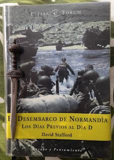 Portada del libro El desembarco de Normandía. Los días previos al Día D, de David Stafford