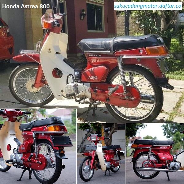 Daftar Harga Komponen Honda Astrea 800