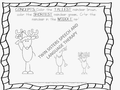 Twin Speech, Language & Literacy LLC: A Very Merry Pre-K