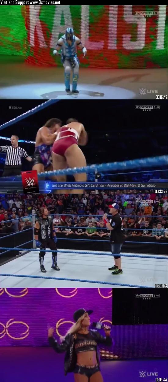 WWE Smackdown Live 02 August 2016 HDTV 480p