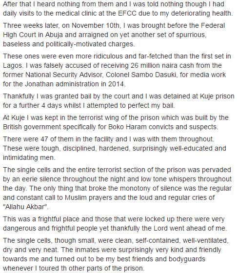 How I met Nnamdi Kanu in prison - Femi Fani Kayode