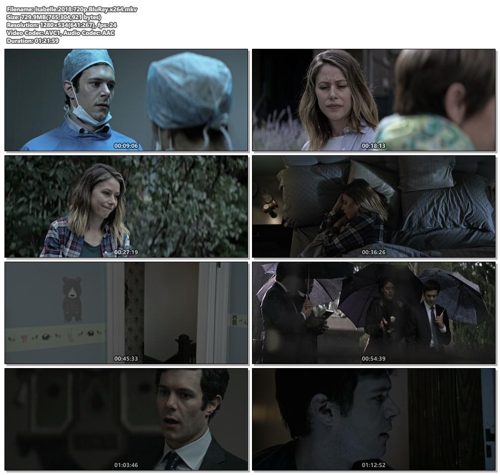 Isabelle 2018 720p BluRay x264   480p 300MB   100MB HEVC Screenshot