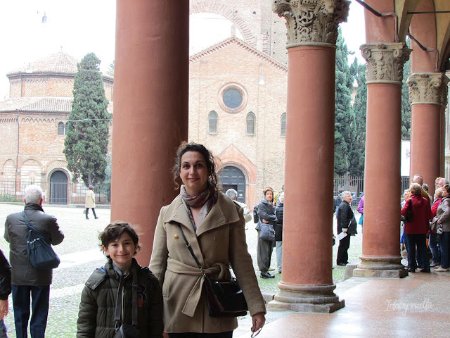 Bolonia con niños paseo