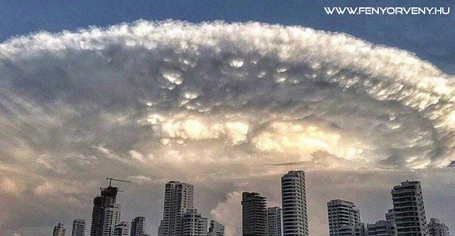 Látványos felhő Cartagena felett (2016.jún.30.)