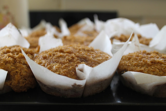 Orange Bran Yogurt Muffins