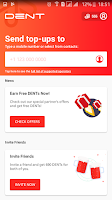 Dent - شرح تطبيق للحصول على رصيد انترنت او مكالامات مجانا