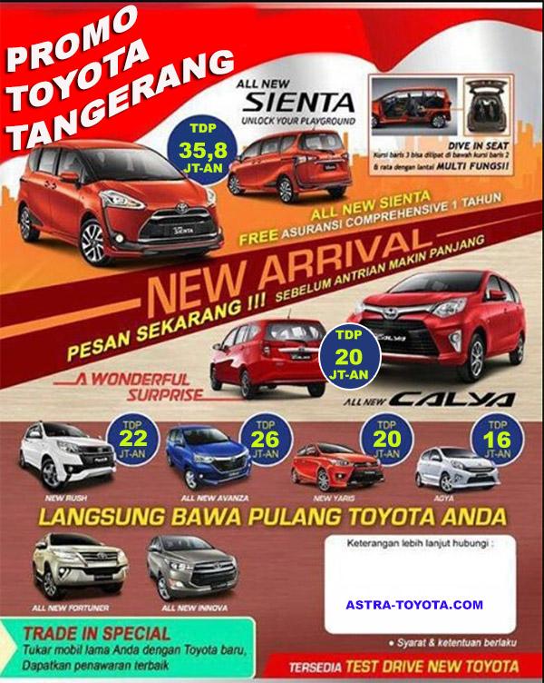 Promo Toyota Dadap Kosambi Tangerang