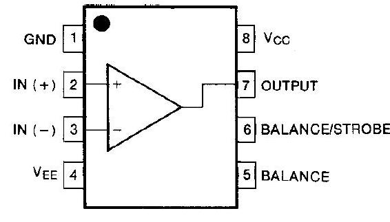 Dictionary of Electronic Components: LM311
