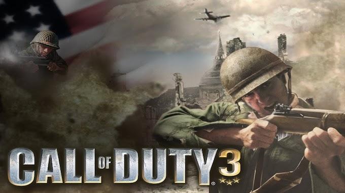 Call Of Duty 3 PS2 ISO (EU)