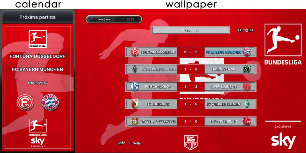 Calendario Bundesliga 2.Pes 2013 Custom Calendars 18 19 By Estevao Pesnewupdate