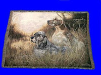 English Setter Blanket Throw Tapestry