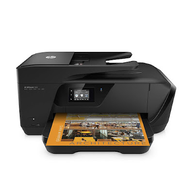 Main functions of this HP coloring cloth inkjet photograph printer HP OfficeJet 7510 Driver Downloads