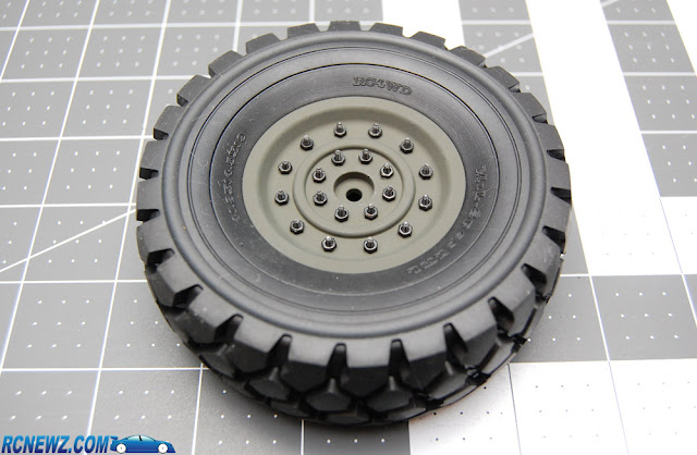 RC4WD Beast 2 assembled wheels and tires