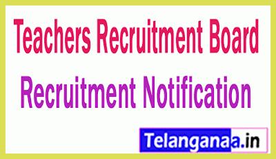 Teachers Recruitment Board TRB Recruitment Notification