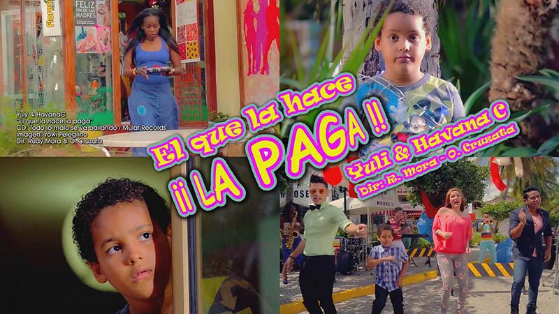 Yuly & Havana C - ¨El que la hace la paga¨ - Videoclip - Dirección: Rudy Mora - Orlando Cruzata. Portal Del Vídeo Clip Cubano - 01