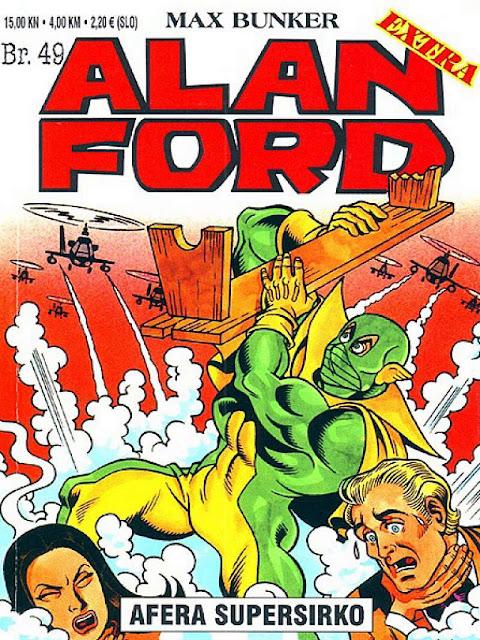 Afera Supersirko - Alan Ford