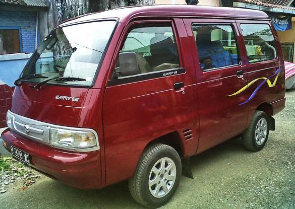 Kala Pickup Suzuki Carry Futura Jadi Kendaraan Off-Road ...