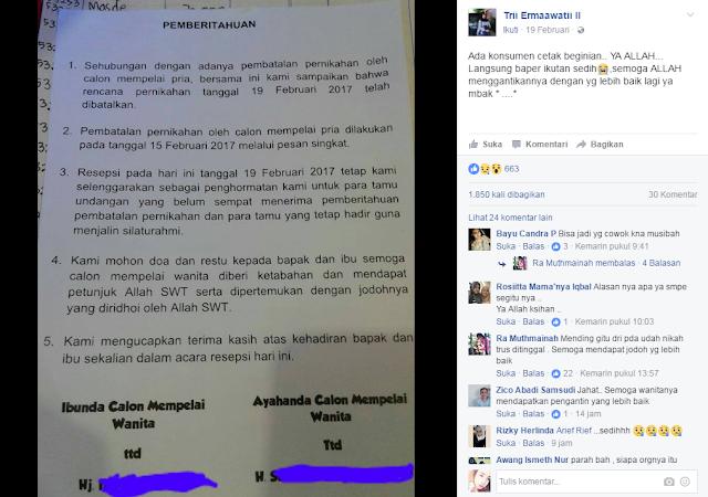 postingan viral di facebook