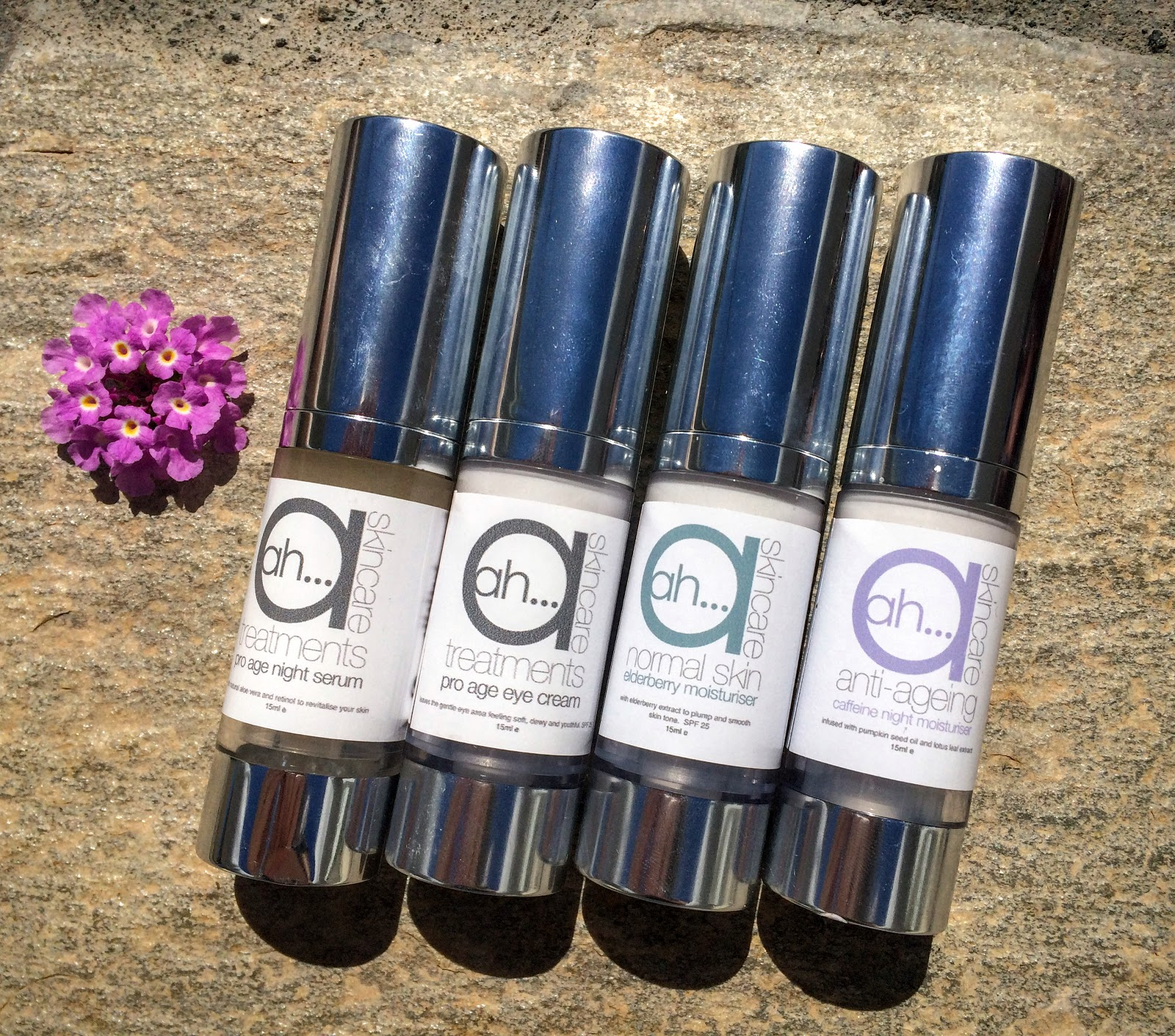 4 Ah Skincare products