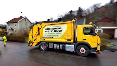 Agora é a vez dos caminhões de lixo ganharem versões movidas a bateria