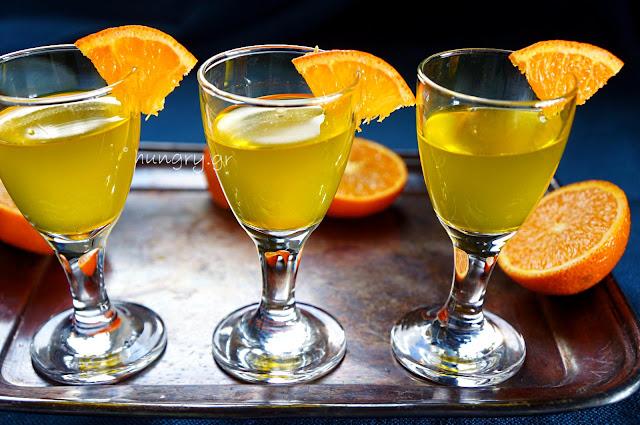 Homemade Mandarin Liqueur-DIY