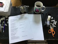 Prep for text dummy for Ruth Asawa: A Sculpting Life written by Joan Schoettler to be illustrated by Traci Van Wagoner