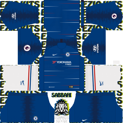 Kit America Dream League Soccer 2016 — BCMA
