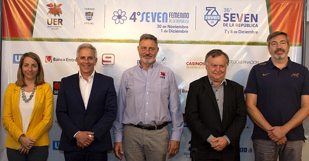 Lanzamiento del Seven de la República 2019