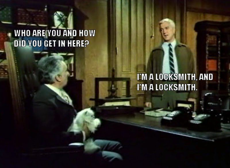 Breathtaking And Inappropriate Frank Drebin Was The Best