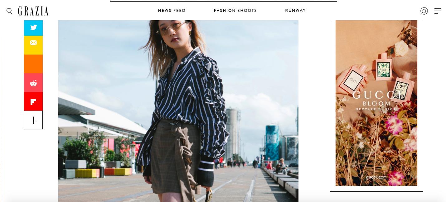 Nicole Ku | Nicrific Grazia Magazine Fashion Week