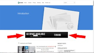 Fix- Amp theme Ad space Available Fill your Ad code Blogger/Blogspot