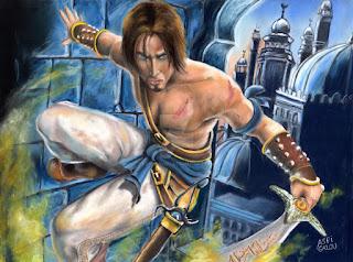 لعبة Prince of Persia لمحاكي PSP بحجم صغير جدا !