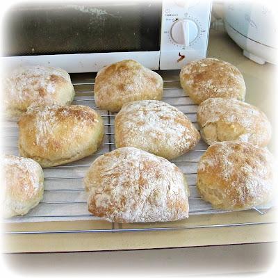 ciabatta rolls bread homemade baked baking