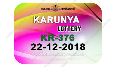 KeralaLotteryResult.net, kerala lottery kl result, yesterday lottery results, lotteries results, keralalotteries, kerala lottery, keralalotteryresult, kerala lottery result, kerala lottery result live, kerala lottery today, kerala lottery result today, kerala lottery results today, today kerala lottery result, karunya lottery results, kerala lottery result today karunya, karunya lottery result, kerala lottery result karunya today, kerala lottery karunya today result, karunya kerala lottery result, live karunya lottery KR-376, kerala lottery result 22.12.2018 karunya KR 376 22 december 2018 result, 22 12 2018, kerala lottery result 22-12-2018, karunya lottery KR 376 results 22-12-2018, 22/12/2018 kerala lottery today result karunya, 22/12/2018 karunya lottery KR-376, karunya 22.12.2018, 22.12.2018 lottery results, kerala lottery result December 22 2018, kerala lottery results 22th December 2018, 22.12.2018 week KR-376 lottery result, 22.12.2018 karunya KR-376 Lottery Result, 22-12-2018 kerala lottery results, 22-12-2018 kerala state lottery result, 22-12-2018 KR-376, Kerala karunya Lottery Result 22/12/2018