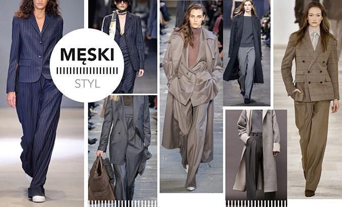 trendy jesien zima 2017 styl meski