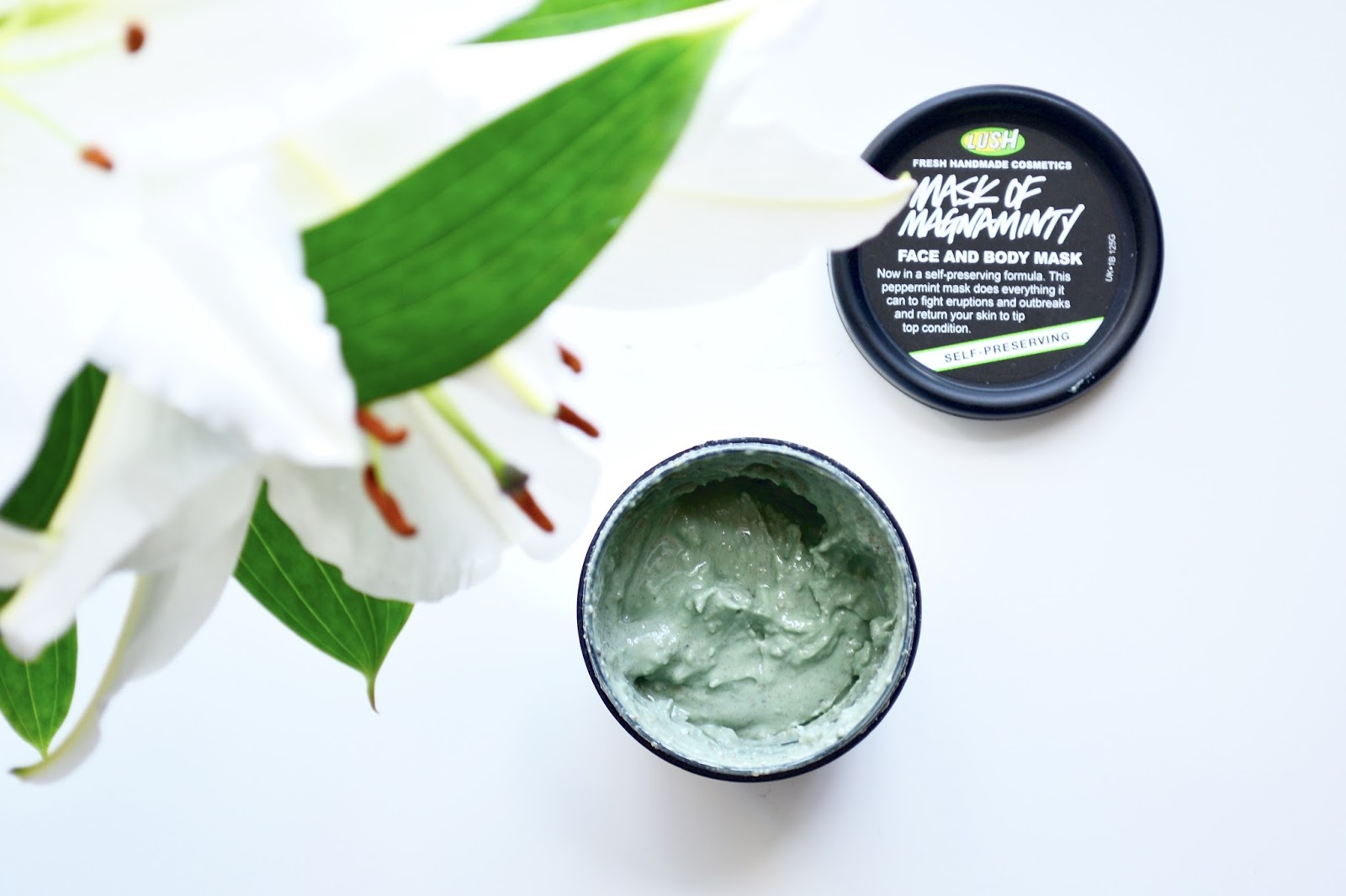 Lush Mask of Magnaminty, Face Mask, Skincare, Lush, Spot free Skin, Beauty, Natural Products,