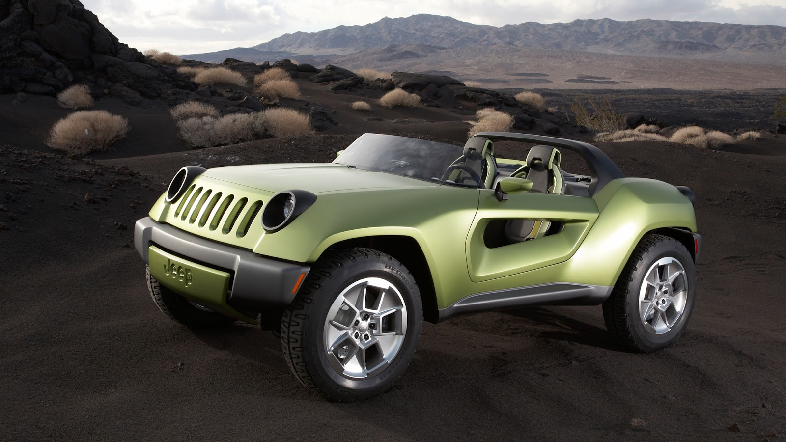 Jeep Renegade Concept 2008 - front view photo