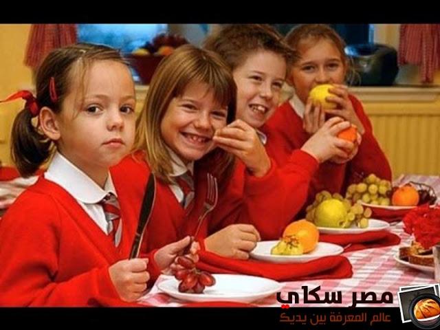 كيف تستثمر التغذية السليمة فى أوقات الدراسة  Proper nutrition ؟