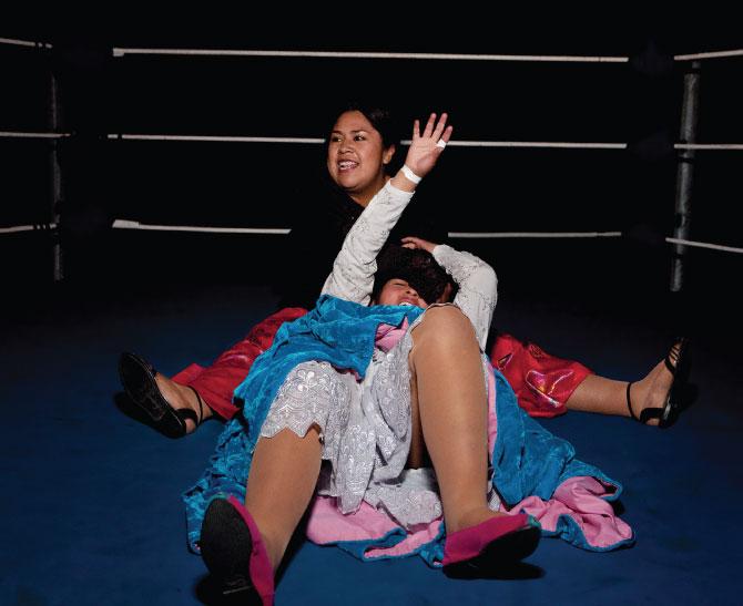 Cholita Con Pollera Real De Bolivia