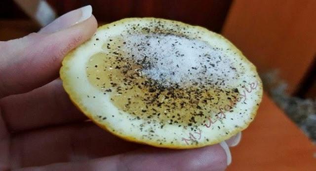 LUAR BIASA Ternyata Campuran Lemon, Lada dan Garam Ampuh Sembuhkan 10 Penyakit Ini! Begini Caranya