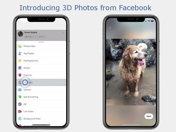 Facebook briefly and vaguely announced their intent to roll out a 3D and VR photo option this past May, but users were left almost completely in the dark.