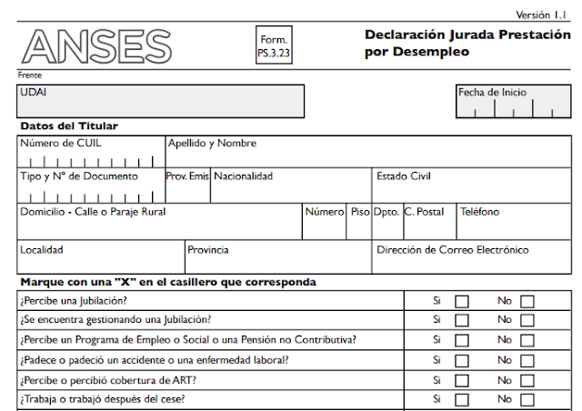Anses Desempleo Anses Requisitos Anses Turnos Fondo De