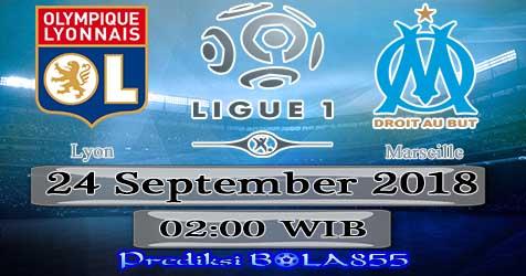 Prediksi Bola855 Lyon vs Marseille 24 September 2018