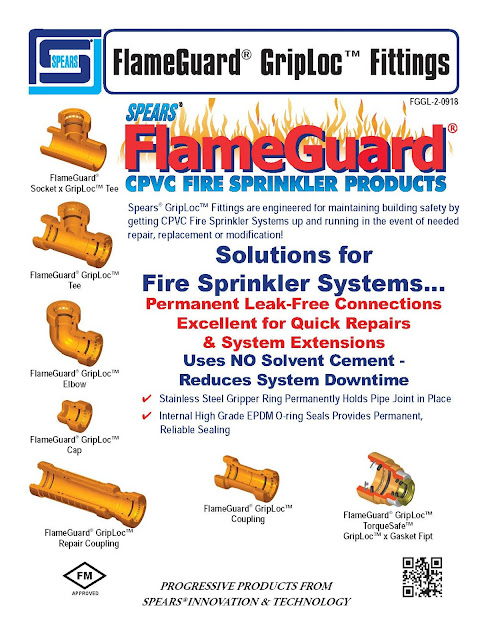 Firex Focus - FlameGuard GripLoc Fittings