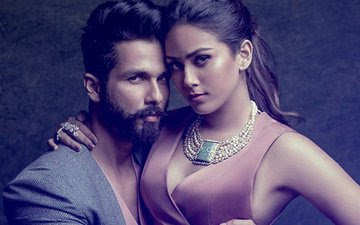 Shahid Kapoor and his wife Mira Rajput