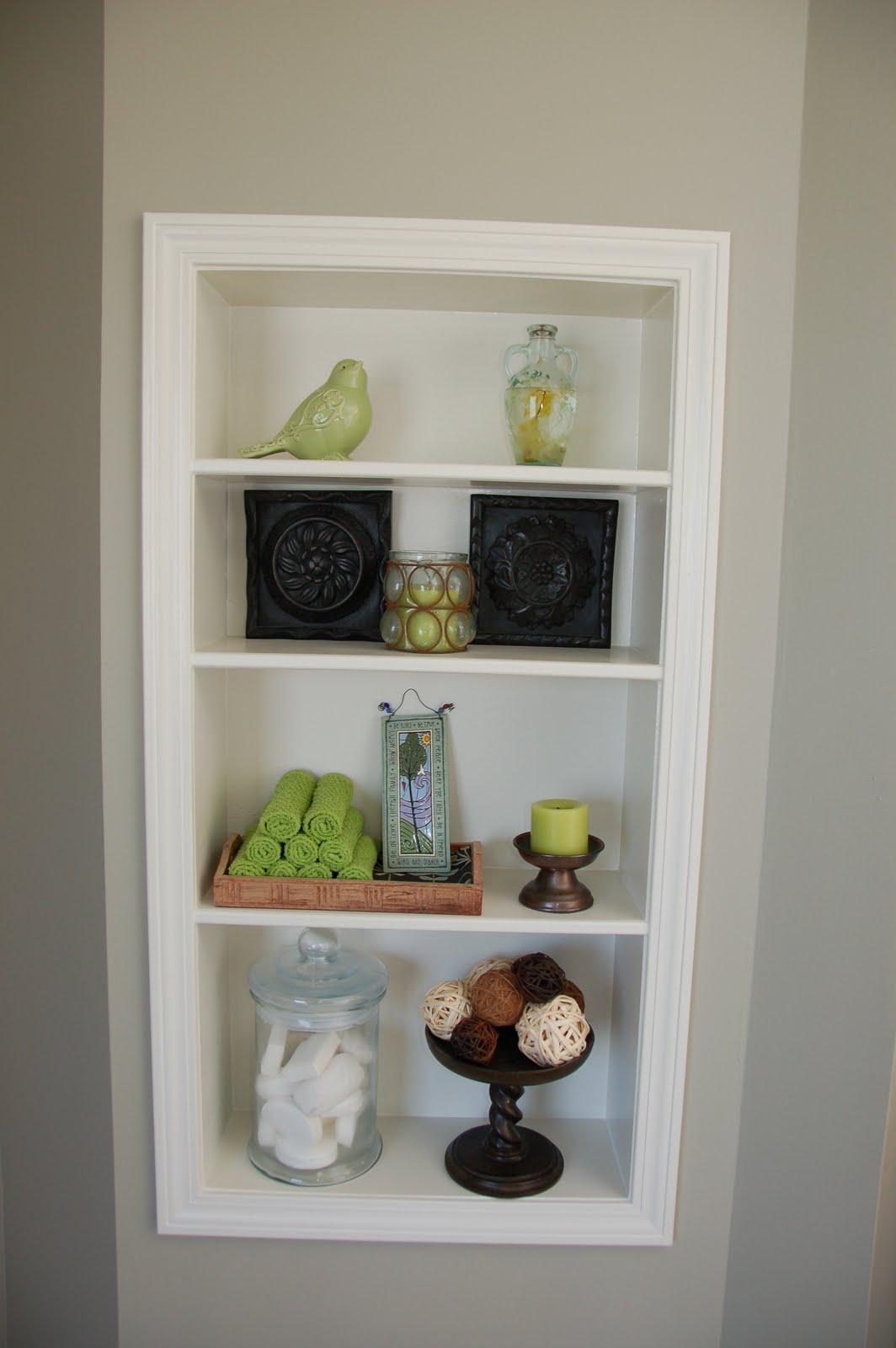 Renovate And Create Bathroom Storage Cubby