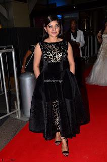 Niveda Thomas Black Sleeveless Cute Dress at 64th Jio Filmfare Awards South 2017 ~ Exclusive 006