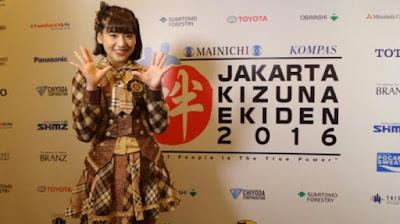 Haruka JKT 48 Siap Berlomba di Jakarta Kizune Ekiden 2016