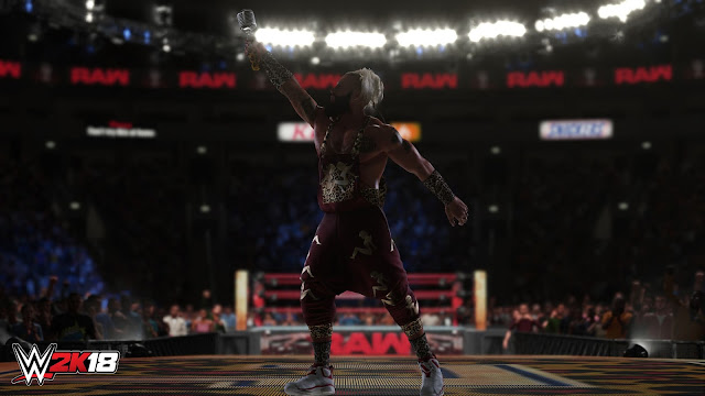 Se presentan los últimos luchadores en unirse al rooster de WWE 2K18